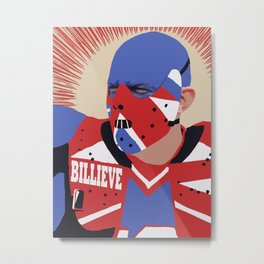 BILLIEVE Metal Print