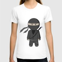 ninja T-shirts featuring Ninja by Shyam13