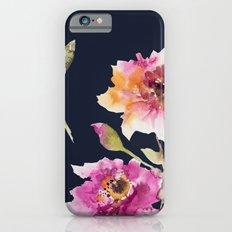 Dhalia -navy iPhone 6 Slim Case
