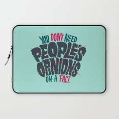Opinions on Facts Laptop Sleeve