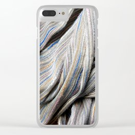 Swirl Clear iPhone Case