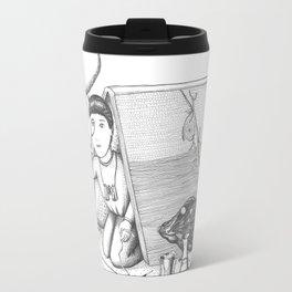 Pupas and Quills Travel Mug