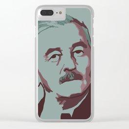William Faulkner Clear iPhone Case
