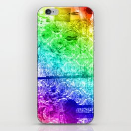 Colorful Chaos iPhone Skin