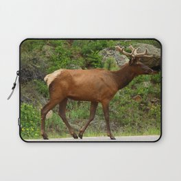 Walking On The Street Laptop Sleeve