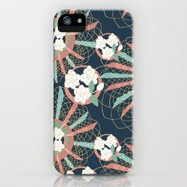 Gardenia art deco iPhone Case