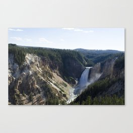 Lower Falls - Yellowstone National Park Canvas Print