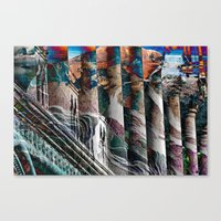 modern vampires of art history Canvas Prints featuring History by Stephen Linhart