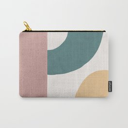 Abstract Earth 1.2 - Painted Shapes Carry-All Pouch
