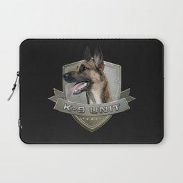K9 Unit  - Malinois Laptop Sleeve