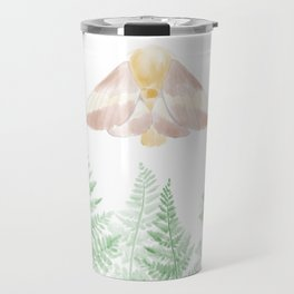 Rosy Maple Moth Travel Mug