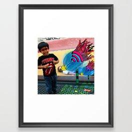 Tito Pájaro Framed Art Print