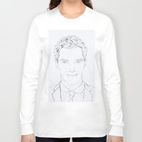 benedict cumberbatch Long Sleeve T-shirts featuring Benedict Cumberbatch by Tatiana D.