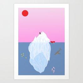 Jelly Fish Wish Art Print