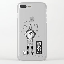 LEBRONJAMES Clear iPhone Case