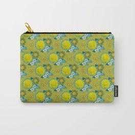 fresh green flowers Carry-All Pouch