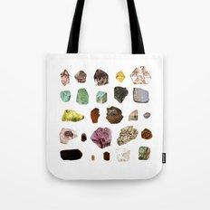Experiment 07: Rocks, minerals, gems Tote Bag