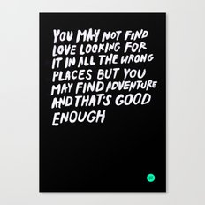 WRONGPLACES Canvas Print