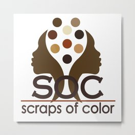Scraps of Color Limited Edition II T-shirt Metal Print