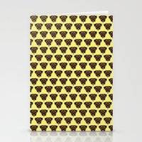 polkadot Stationery Cards featuring Terrier Polkadot by Luke Clark