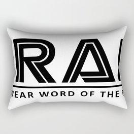 Frak Swear word of the Rectangular Pillow