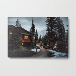 Wuksachi Lodge Sequoia National Park Metal Print