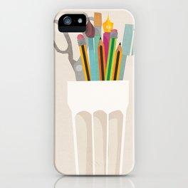 Pencil Pot iPhone Case