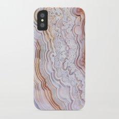Crazy lace agate iPhone X Slim Case