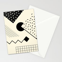 RETROMETRIA MONO 1 Stationery Cards