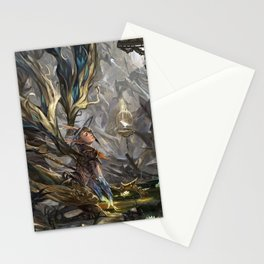 Protecting the Nest Stationery Cards
