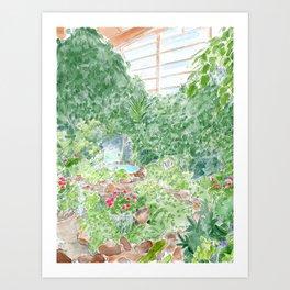 The Conservatory Art Print