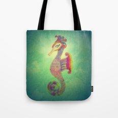 Seahorse Lady Tote Bag