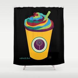 Milkshake - The Marvelous Colors of a Lollipop Collection Shower Curtain