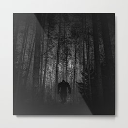 The dark & lonely path Metal Print