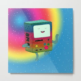 BMO´s happy dance Metal Print
