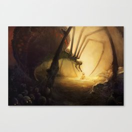 Spidermother Canvas Print