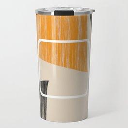 Abstract textured artwork II Travel Mug