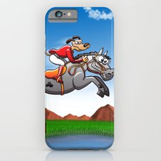 Olympic Equestrian Jumping Dog Slim Case iPhone 6s