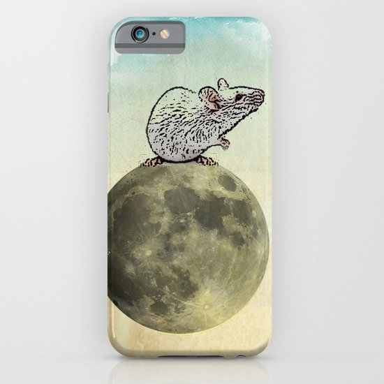 Tiny and the Cheese Moon iPhone & iPod Case