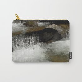 Icy Waters of Fall Creek at Vallecito Carry-All Pouch