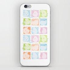 Cat Blobs iPhone & iPod Skin
