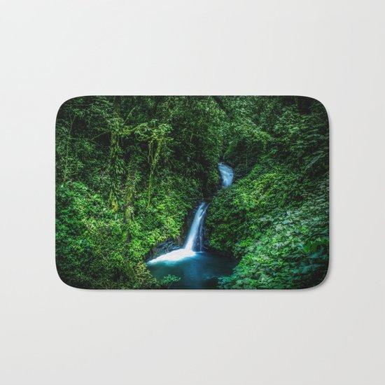 Jungle Waterfall Bath Mat