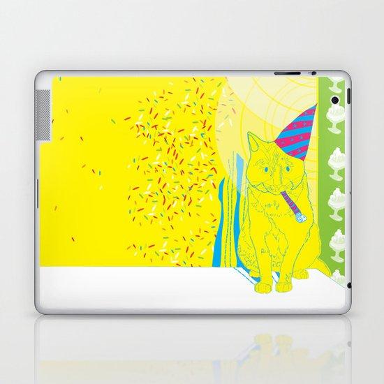 Party Cat Laptop & iPad Skin