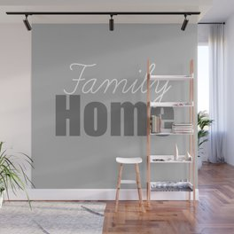 Family Home Wall Mural