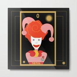 Tarot- The Fool Metal Print