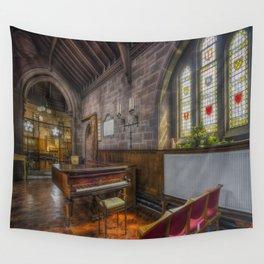 Church Piano Wall Tapestry