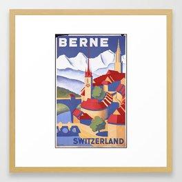 BERNE Switzerland Framed Art Print