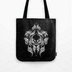 Alien Tribal Tattoo - white Tote Bag