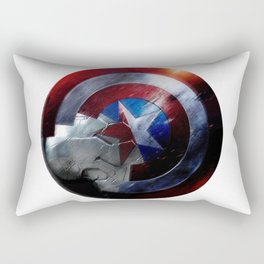 Bucky and Steve  Rectangular Pillow