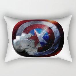 Bucky and Steve  Rectangular Pillow